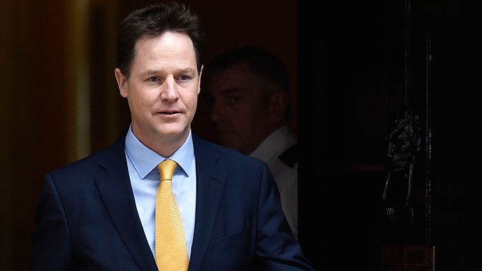 Bets on! Clegg wagers £50 on remaining deputy PM after election