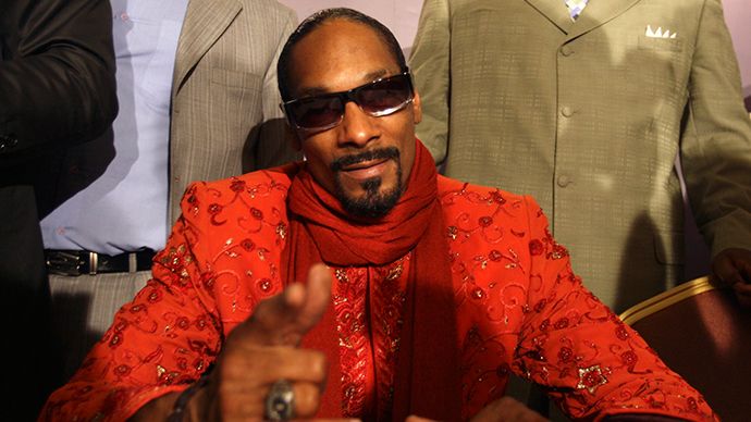 U.S. rap artist Snoop Dogg (Reuters / Mohamed Azakir)