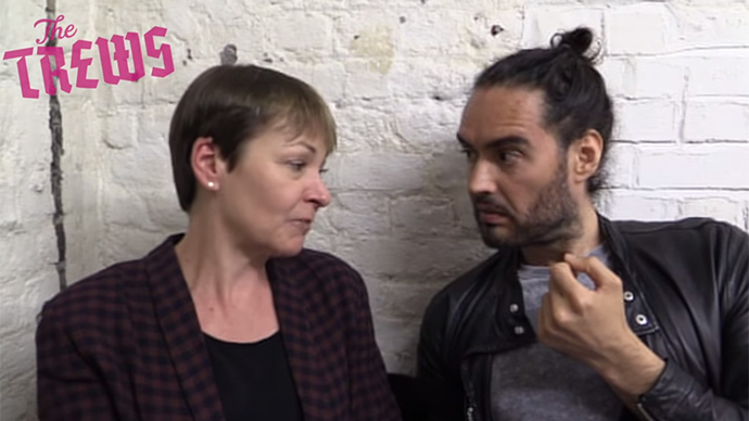 ​Russell Brand backs Greens Party in 'anti-voting' volte-face