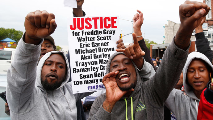 Freddie Gray's death puts spotlight on Baltimore's inequality (VIDEO)