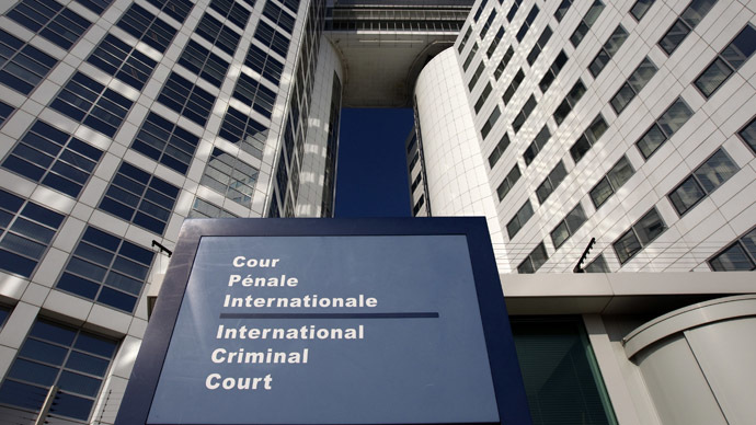 The entrance of the International Criminal Court (ICC). (Reuters/Jerry Lampen)