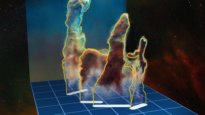 First complete 3D view of iconic Pillars of Creation released