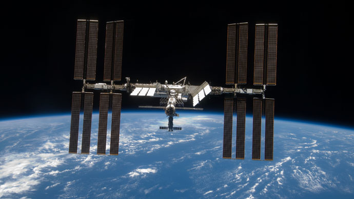 The International Space Station (Photo from nasa.gov)