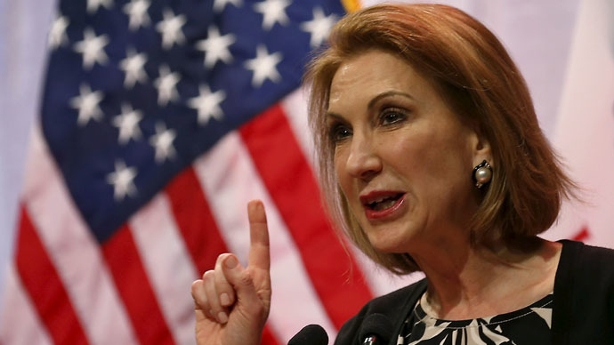 Potential Republican presidential candidate former Hewlett-Packard CEO Carly Fiorina (Reuters/Jim Young)