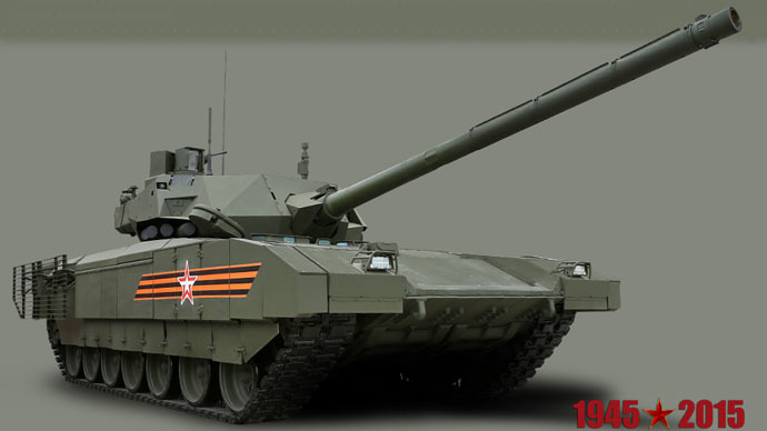 Armata unveiled: First ever full high-def photos of Russia's newest hardware