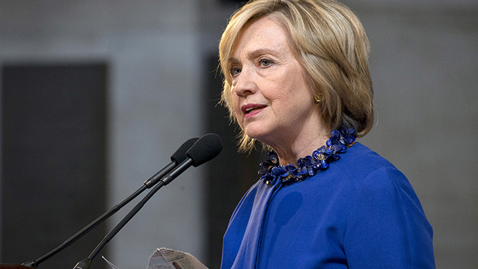 Democratic presidential candidate Hillary Clinton (Reuters / Brendan McDermid)