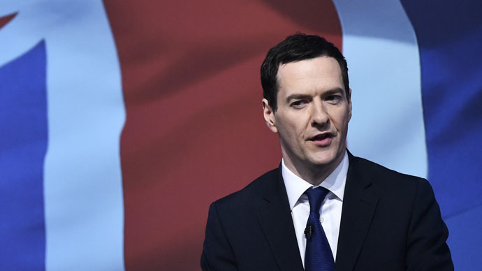 Britain's Chancellor of the Exchequer George Osborne (Reuters/Toby Melville)