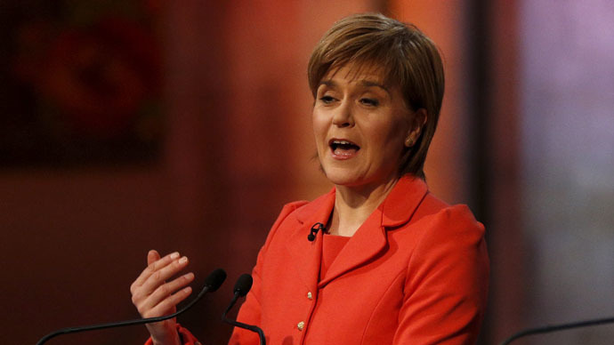 Nicola Sturgeon leader of the Scottish National Party (Reuters/Russell Cheyne)