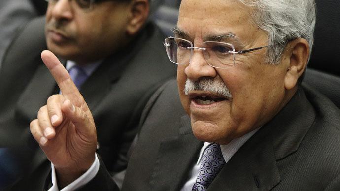 Saudi Arabia's Oil Minister Ali al-Naimi (Reuters/Heinz-Peter Bader)