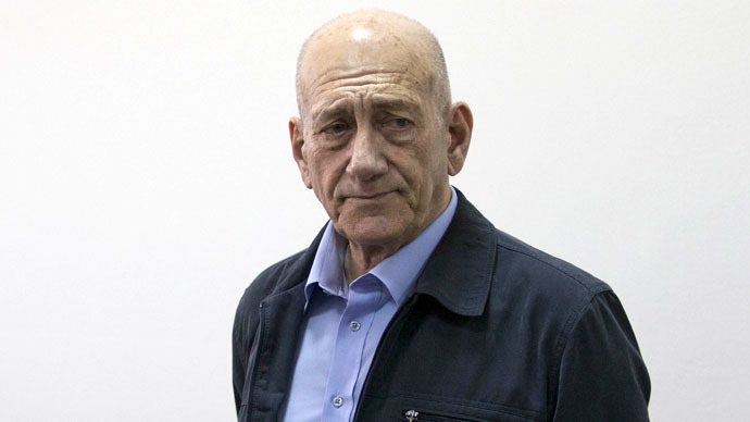 Tony Blair acts as character witness for Ehud Olmert in corruption trial