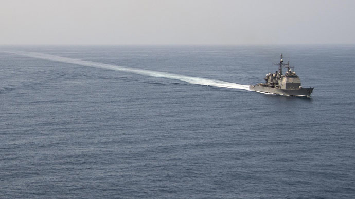 ​US navy starts escorting British cargo ships through Strait of Hormuz off Iran's coast