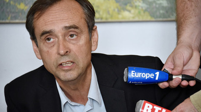 Beziers Mayor Robert Menard (AFP Photo/Pascal Guyot)