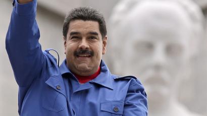 Venezuela's president Nicolas Maduro. (Reuters/Enrique De La Osa)