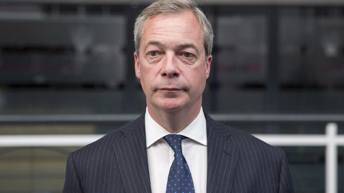 'My neck is on the line': Farage pledges not to stand again if he loses