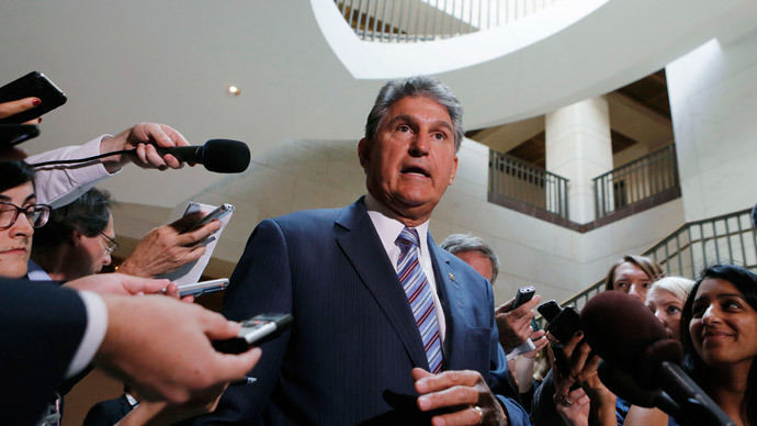 U.S. Senator Joe Manchin.(Reuters / Larry Downing )