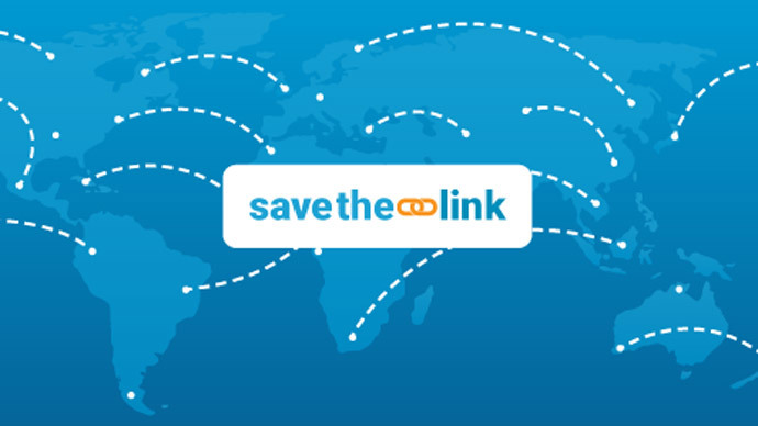 'Web-sharing censored!' Activists unite to 'Save the Link' from restrictive laws