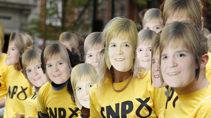 'Scottish lion roars': SNP win 56 out of 59 Scottish seats, humiliating Labour