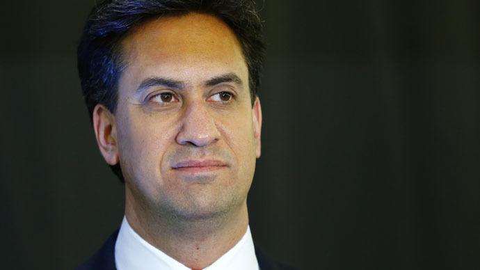 Britain's opposition Labour Party leader Ed Miliband. (Reuters/Darren Staples)