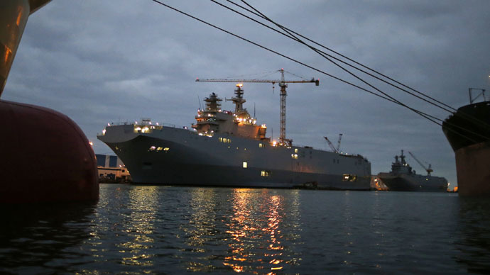 'France needs Russia's approval to sell Mistral warships' - Russia's arms chief