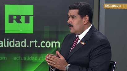 US going after Russia, Venezuela as it loses global influence – Maduro to RT