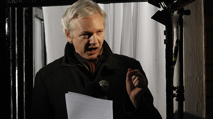 WikiLeaks founder Julian Assange. (Reuters/Luke MacGregor)