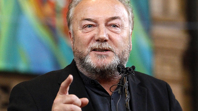 George Galloway. (Reuters/Mike Cassese)