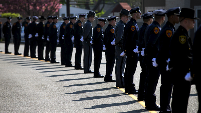 Number of police officers killed on duty in 2014 jumps nearly 90%