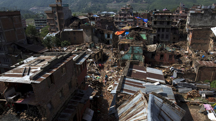 Magnitude 7.3 deadly earthquake strikes Nepal close to Everest
