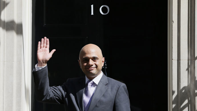 Britain's Culture Secretary Sajid Javid (Reuters/Stefan Wermuth)
