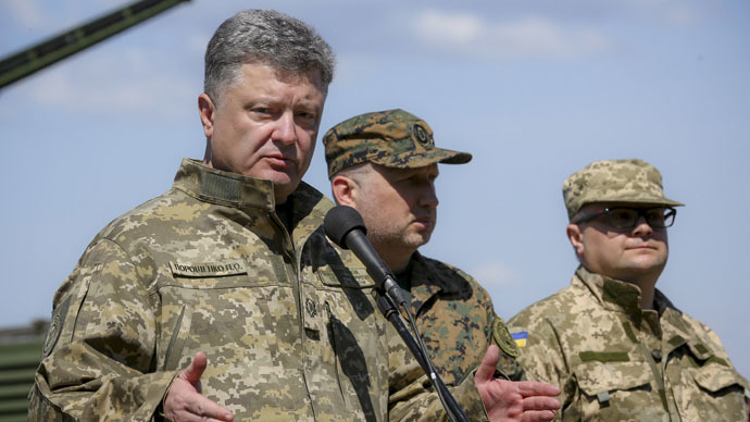 Poroshenko violates Minsk deal vowing to recapture Donetsk Airport - Kremlin