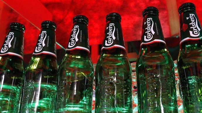 Carlsberg net loss deepens 34%, hit by Russian beer market