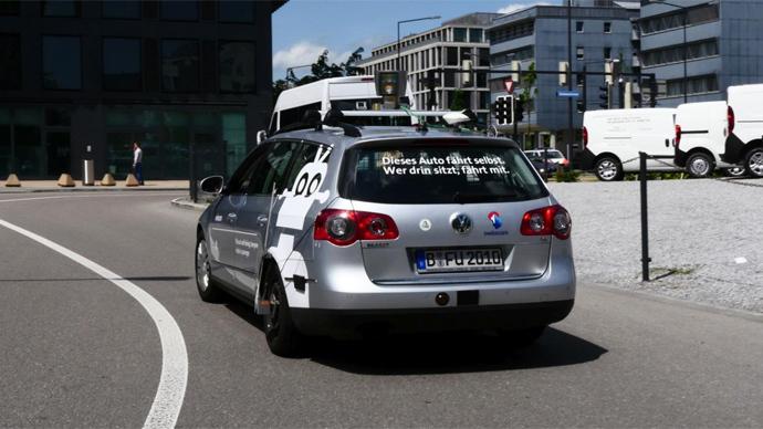 Switzerland unveils its first driverless cars