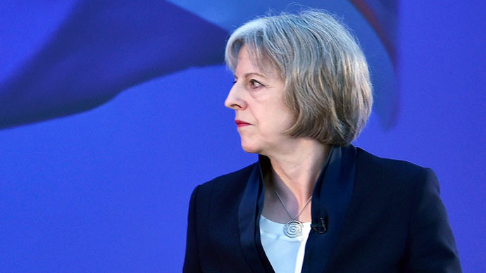 Britain's Home Secretary Theresa May (Reuters/Toby Melville)