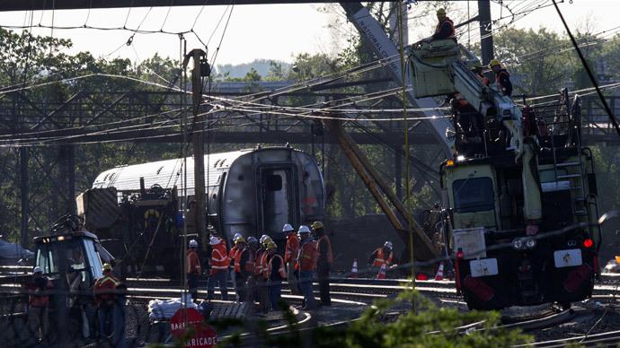 Video shows Amtrak train speeding before derailment; death toll stands at 8