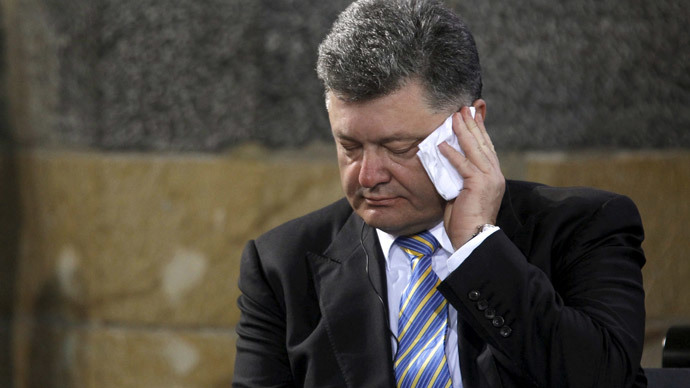 Poroshenko says Minsk deal 'pseudo-peace', vows to fight to the last drop of blood