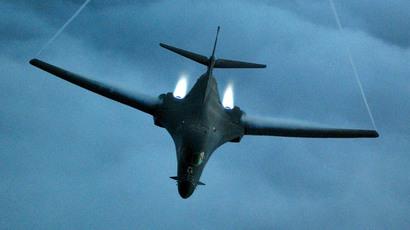 A U.S. B-1 bomber.(Reuters / Cedric H. Rudisill)
