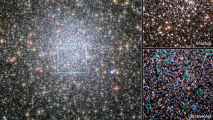Dying stars' exodus: Hubble captures 1st ever images of migrating white dwarfs