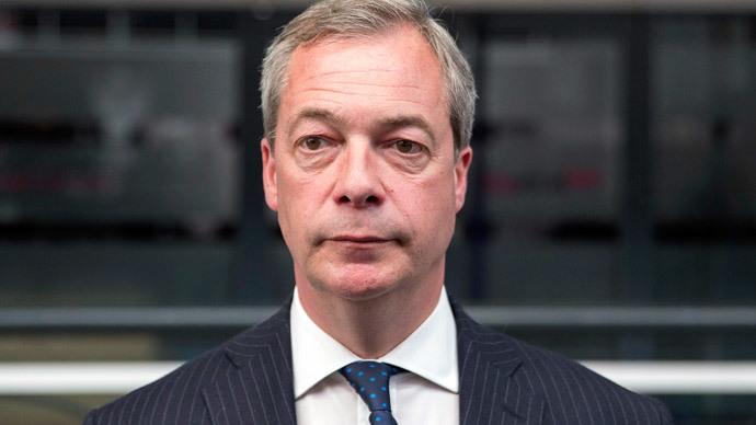 Nigel Farage.(Reuters / Neil Hall)