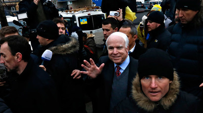 McCain: US will supply gas to Ukraine, Europe in 2 yrs