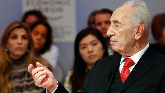 No one can ignore Russia's role in defeating the Nazis - Shimon Peres