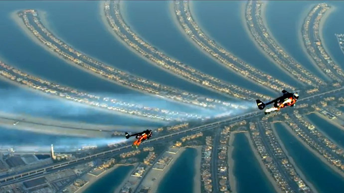 'Fly wherever you want:' Jetmen behind death-defying Dubai stunt speak out (VIDEO)