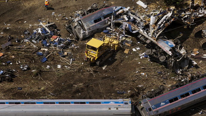 Amtrak employee sues rail line over injuries from Philadelphia train crash