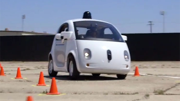 Still from youtube video/Google Self-Driving Car Project