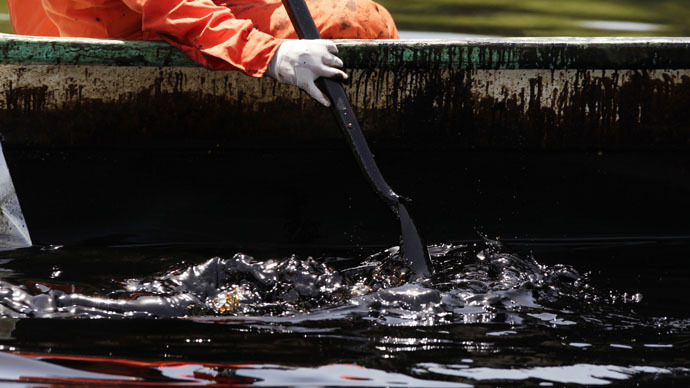 2004 Gulf of Mexico oil spill could leak another 100 years - report