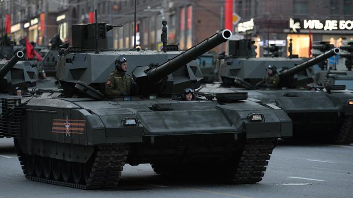 A T-14 tank with the Armata Universal Combat Platform (RIA Novosti / Mikhail Voskresenskiy)
