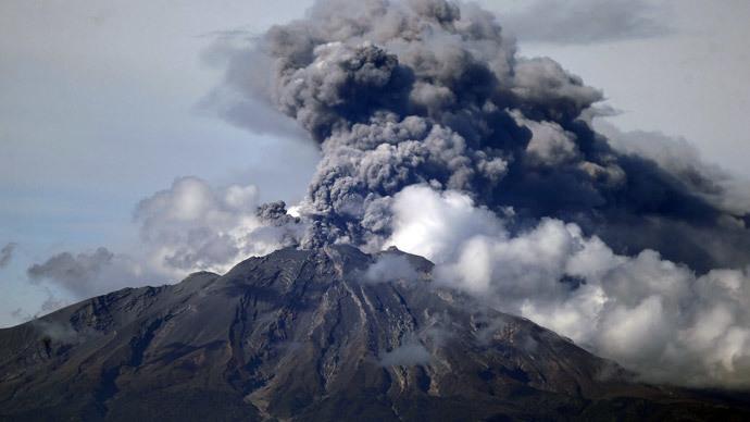 Calbuco after the eruption (Reuters / Ivan Alvarado)