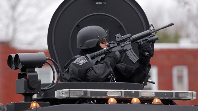 No tanks! US police to lose some military equipment, but not all