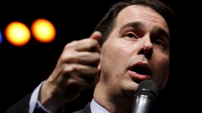 Governor of Wisconsin Scott Walker (Reuters/Jim Young)