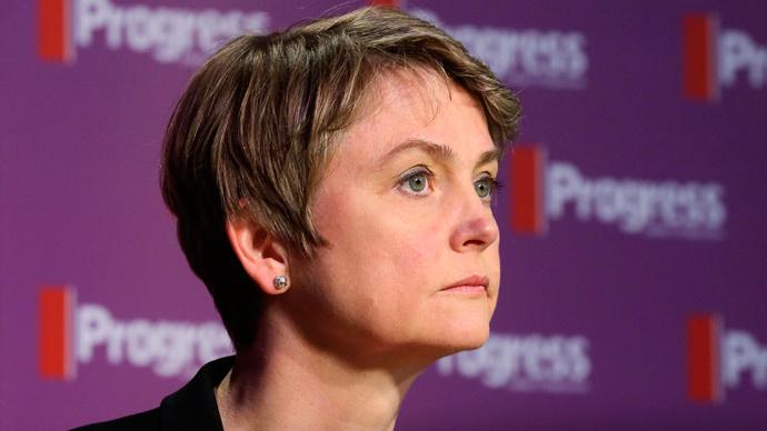 Prospective Labour leader Yvette Cooper. (Reuters / Paul Hackett)