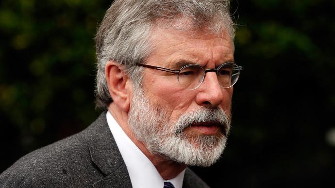 Sinn Fein's Gerry Adams. (Reuters / Cathal McNaughton)